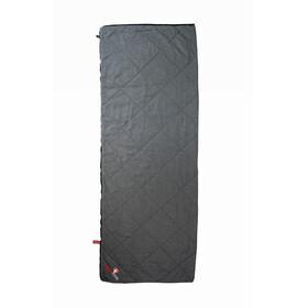 Grüezi-Bag WellhealthBlanket Wool Deluxe Sleeping Bag Grey Melange / Berry